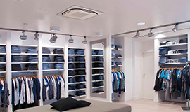 Shop Air Conditioning Installations
